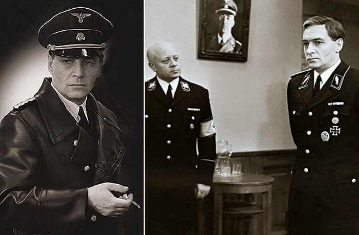 Нашим зрителям черная униформа СС хорошо знакома по фильму *Семнадцать мгновений весны*   Фото: historicaldis.ru и anews.com
