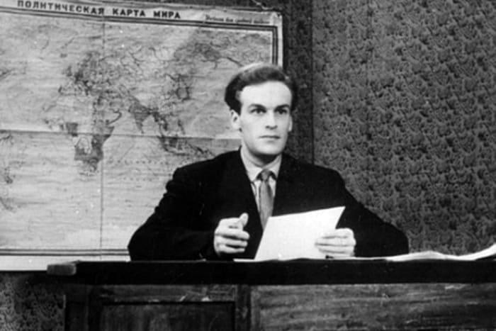Игорь Кириллов в первый год работы на телевидении, 1957 | Фото: 24smi.org