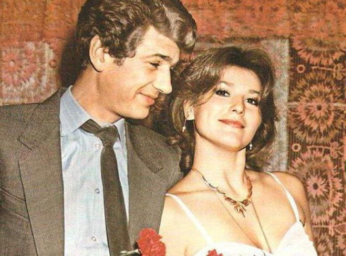 Актер с первой женой, актрисой Еленой Романовой   Фото: syl.ru