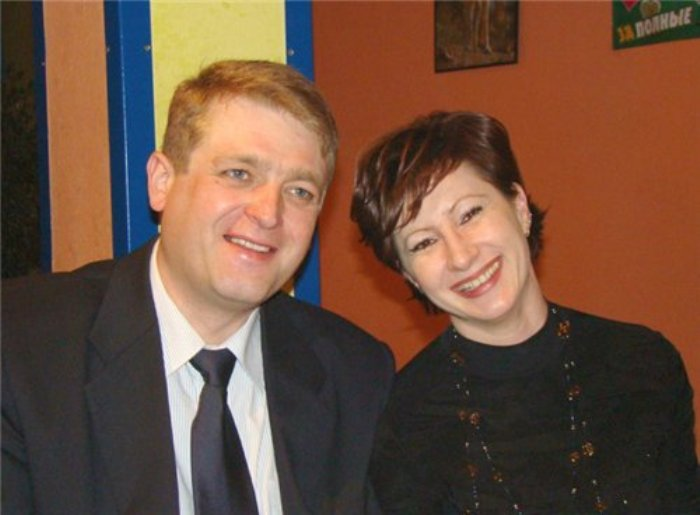 Игорь Красавин с женой Ольгой | Фото: kino-teatr.ru