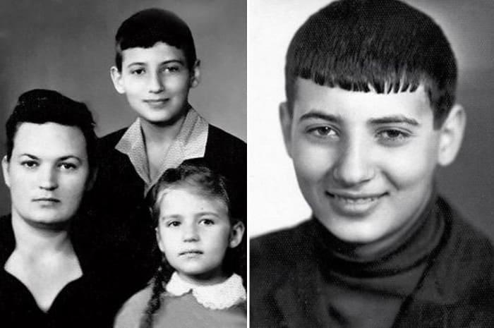 Игорь Крутой с мамой и сестрой   Фото: uznayvse.ru