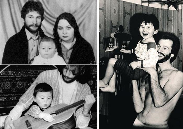 Игорь Тальков с семьей | Фото: focus.ua