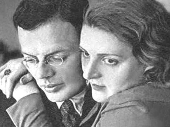 Илья Ильф и Мария Тарасенко | Фото: chronoton.ruф