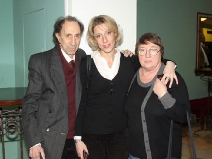 Юлия Рутберг с родителями | Фото: ego-zhena.ru