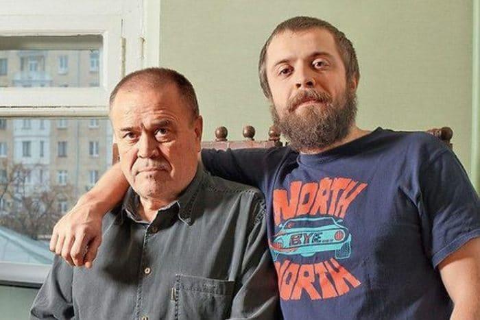 Александр Ильин-младший с отцом | Фото: kino-teatr.ru