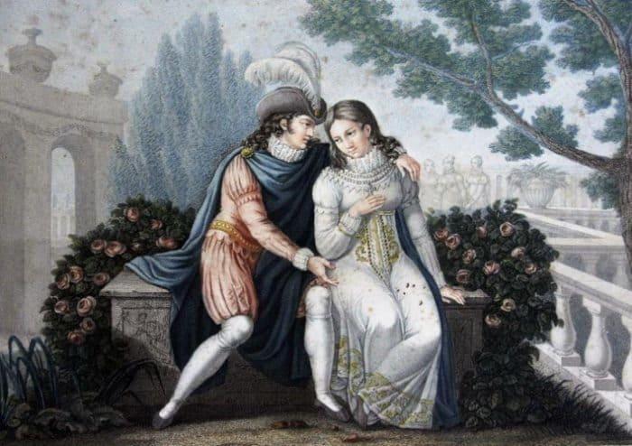 Легенда о любви короля Португалии Педро I и Инеш де Каштру стала распространенным сюжетом произведений искусства | Фото: ksn-travel.com