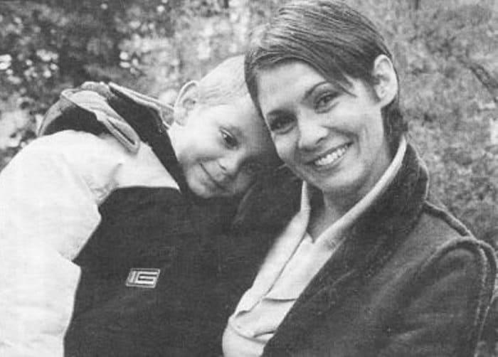 Инга Ильм с сыном | Фото: vasechkin.ru