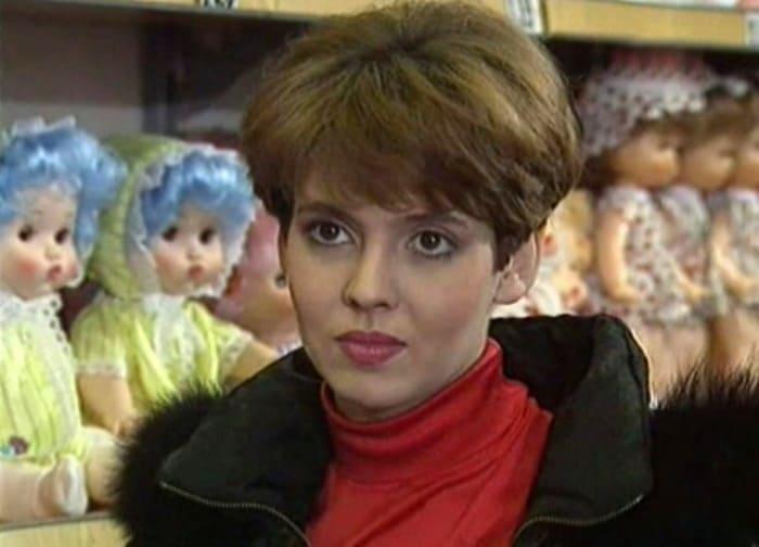 Инга Ильм в сериале *Горячев и другие*, 1992 | Фото: kino-teatr.ru