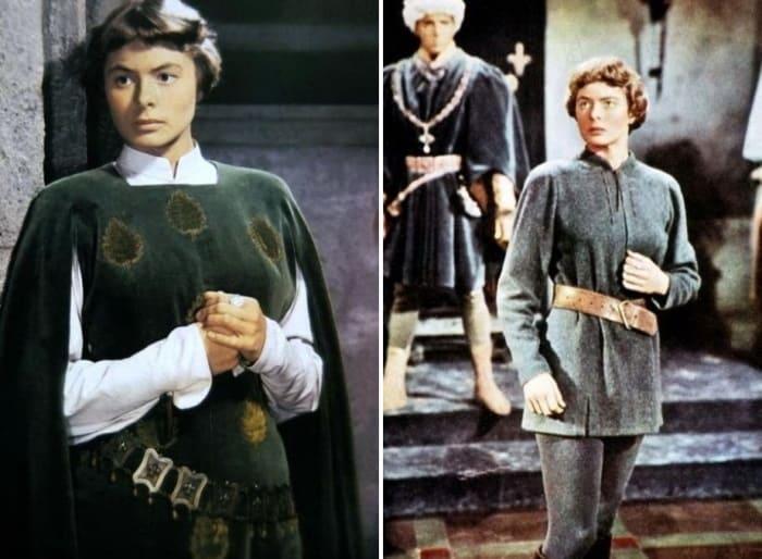 Кадры из фильма *Жанна Д'Арк*, 1948 | Фото: kino-teatr.ru