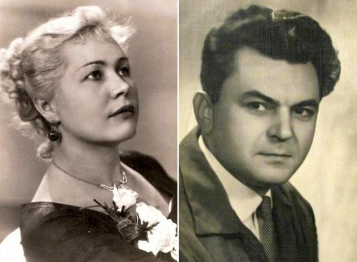 Инна Макарова и Сергей Бондарчук