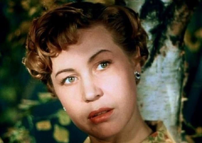 Инна Макарова в фильме *Высота*, 1957