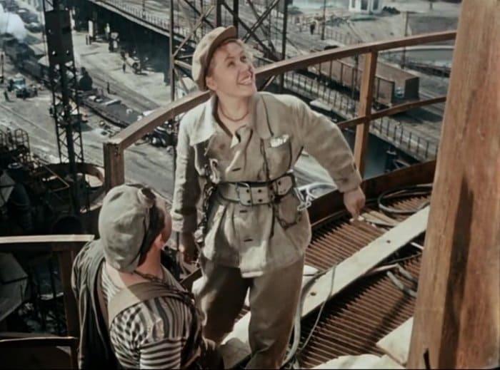 Инна Макарова в фильме *Высота*, 1957 | Фото: teatral-online.ru