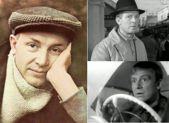 Легенда советского кино Иннокентий Смоктуновский | Фото: kino-teatr.ru