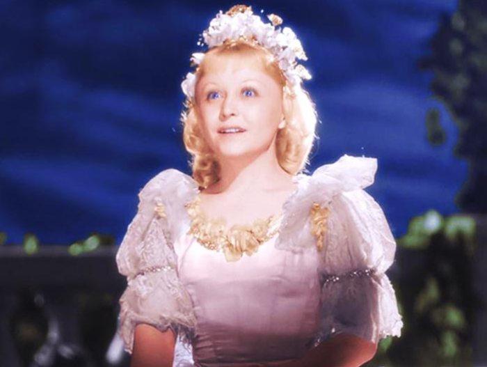 Янина Жеймо в роли Золушки, 1947 | Фото: teleprogramma.pro