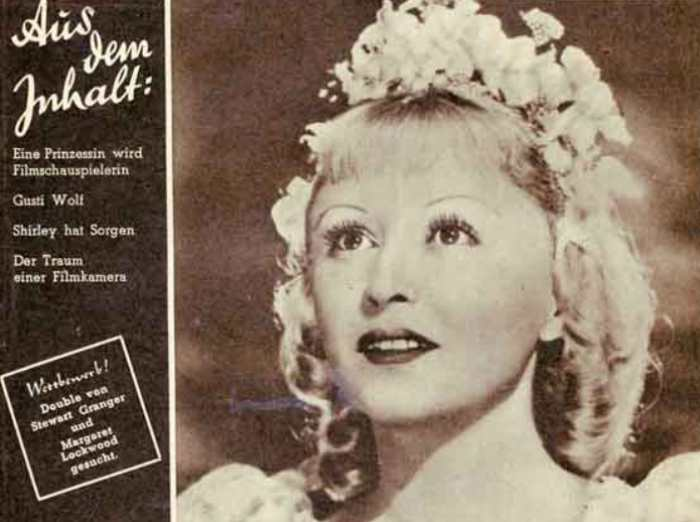 Янина Жеймо на обложке журнала *Mein Film* (Австрия), 1948 | Фото: kino-teatr.ru