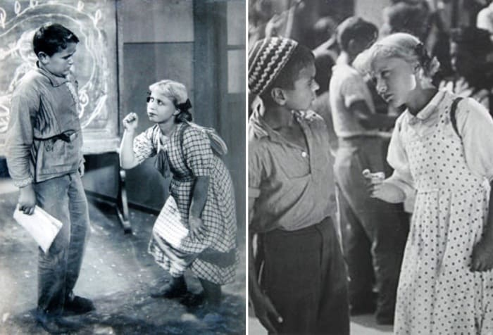 Кадры из фильма *Разбудите Леночку*, 1934 | Фото: kino-teatr.ru, teleprogramma.pro