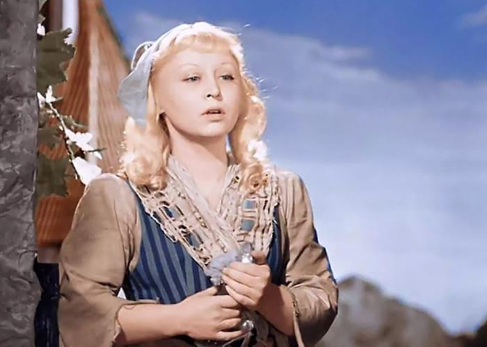 Янина Жеймо в роли Золушки, 1947 | Фото: saltmag.ru