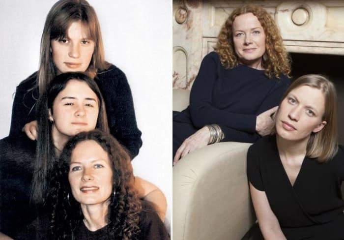 Актриса с дочерьми | Фото: veasy.ru, passion.ru
