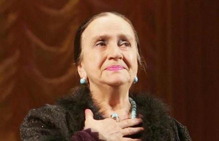 Народная артистка Украины Ирина Бунина   Фото: kino-teatr.ru