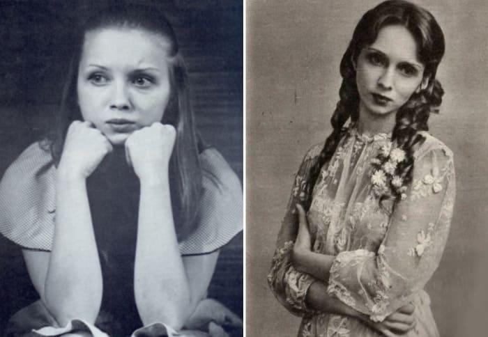 Актриса в юности | Фото: kino-teatr.ru и stuki-druki.com