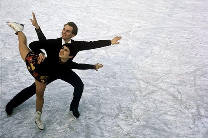 Ирина Роднина и Алексей Уланов, 1969 | Фото: aif.ru