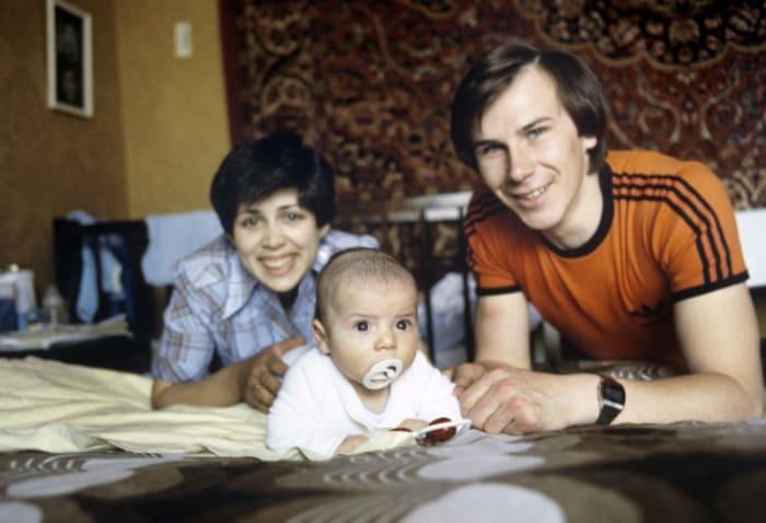 Ирина Роднина и Александр Зайцев с сыном | Фото: goodhouse.ru