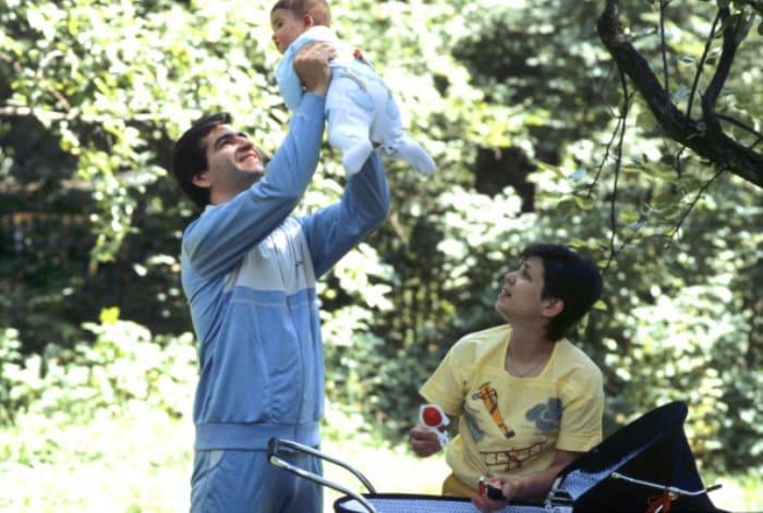 Фигуристка со вторым мужем и дочерью | Фото: goodhouse.ru