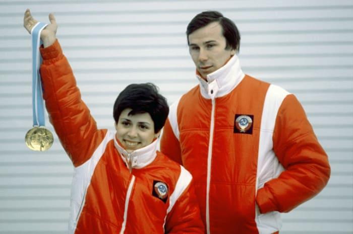 Чемпионы XIII Олимпийских игр в Лейк-Плэсиде в парном катании Ирина Роднина и Александр Зайцев, 1980 | Фото: aif.ru