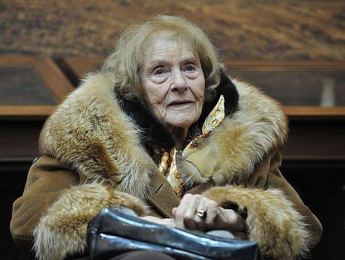 100-летняя баронесса фон Дрейер во время визита в Россию в 2015 г. | Фото: pravoslavie.ru