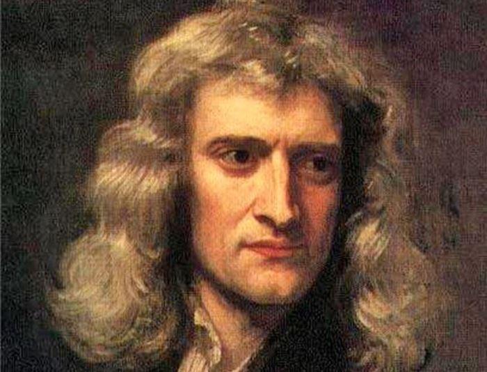 Г. Кнеллер. Портрет Исаака Ньютона, 1689. Фрагмент | Фото: old.mirf.ru