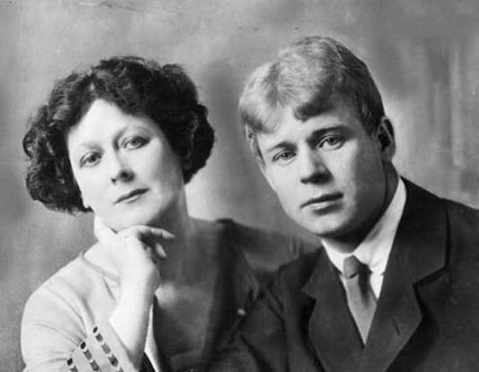 Айседора Дункан и ее первый и единственный муж Сергей Есенин | Фото: newsland.com