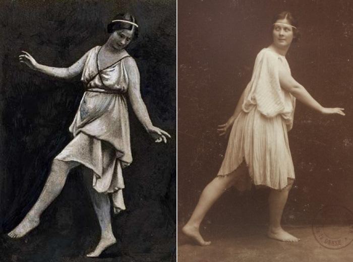 Родоначальница *свободного танца* Айседора Дункан   Фото: cumir.ru
