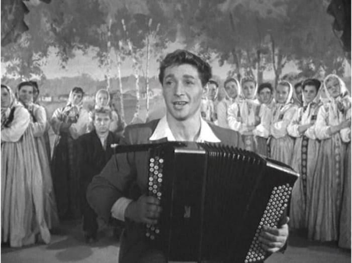Вячеслав Тихонов в фильме *Дело было в Пенькове*, 1957 | Фото: domkino.tv
