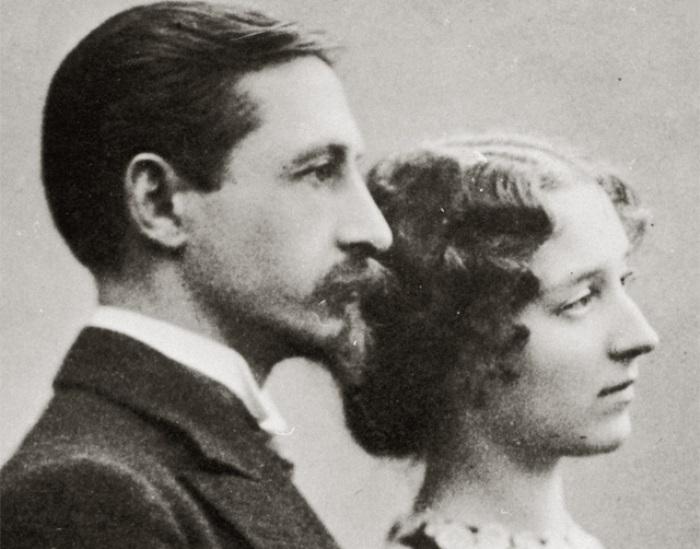 Иван Бунин с женой Верой, 1907 | Фото: art.mirtesen.ru