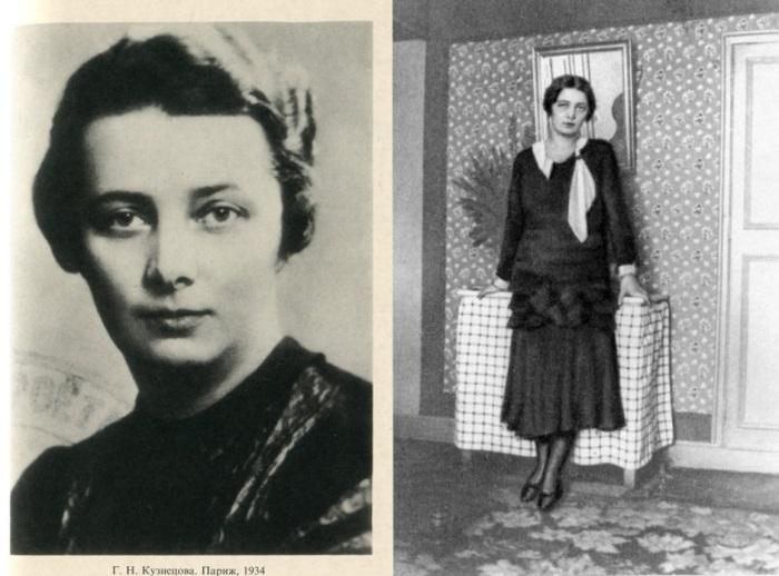 Галина Кузнецова, 1934 и 1931 гг. | Фото: coollib.net и russkiymir.ru
