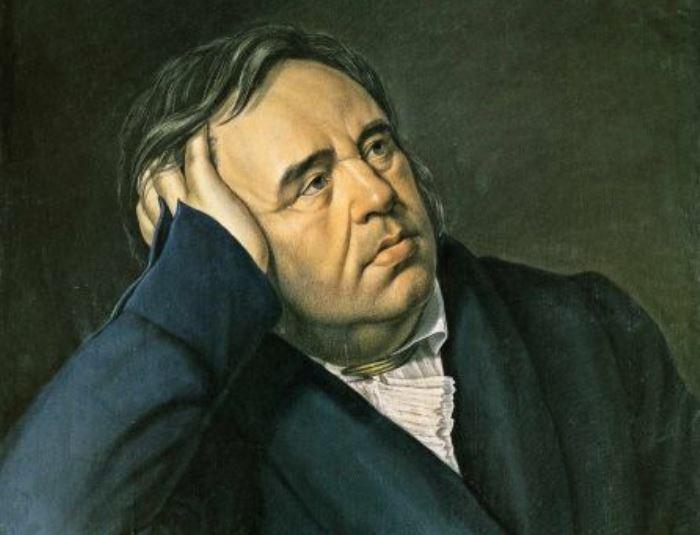 П. Оленин. Портрет баснописца И. А. Крылова, 1824. Фрагмент | Фото: virtualrm.spb.ru
