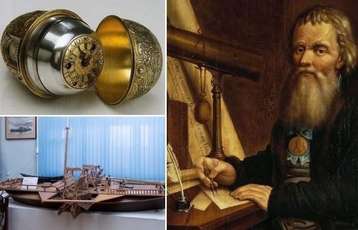 Выдающийся изобретатель, механик-самоучка Иван Кулибин и его шедевры | Фото: top-antropos.com, violity.ua и pro-travel.net