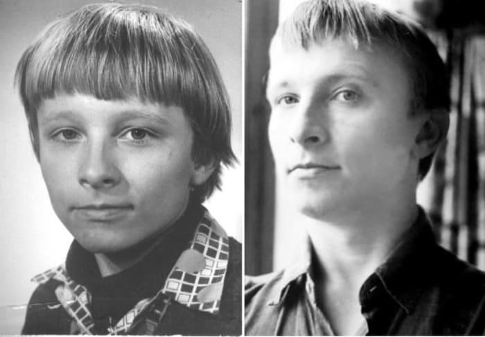 Актер в детстве и в юности | Фото: kino-teatr.ru