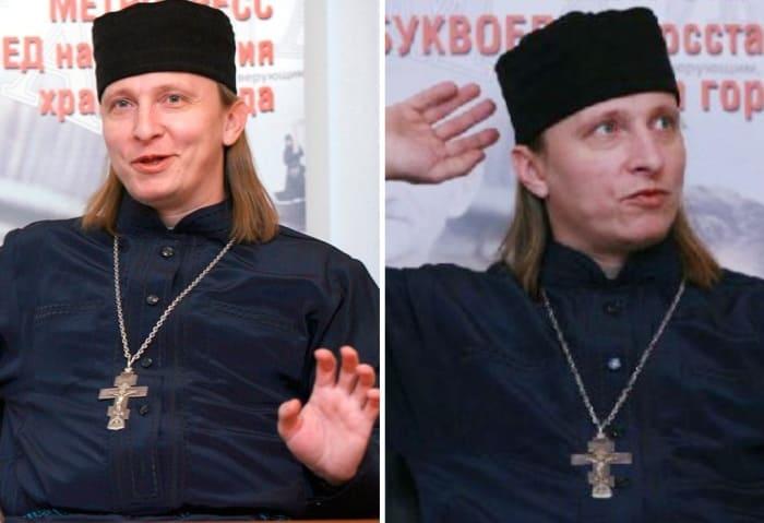 Отец Иоанн | Фото: uznayvse.ru, interesnyefakty.org