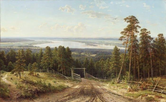 И. Шишкин. Кама близ Елабуги, 1895 | Фото: cultobzor.ru