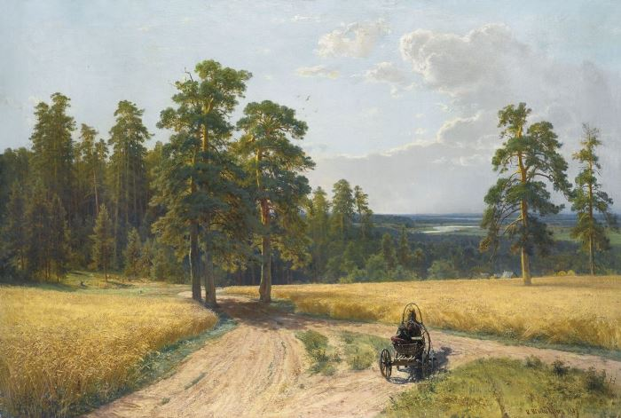 И. Шишкин. На опушке соснового леса, 1897 | Фото: artchive.ru