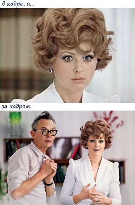 Леонид Гайдай на съемках комедии | Фото: kinocomedy.livejournal.com