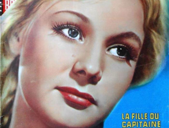 Актриса на французской афише *Капитанской дочки* | Фото: kino-teatr.ru