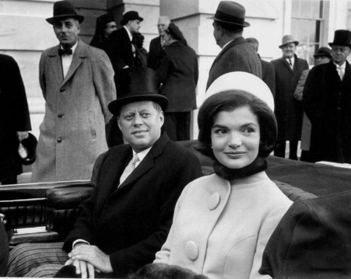 Фотография с инаугурации президента США Джона Кеннеди 20 января 1961 г.