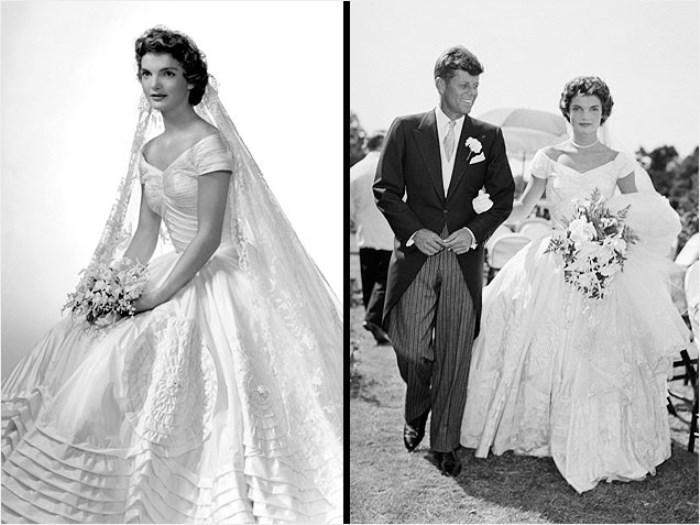 Свадебные фото Жаклин и Джона Кеннеди 12 сентября 1953 г.