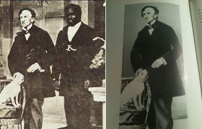 Джеймс Бэрри и его верный слуга, посвященный в его тайну | Фото: express.co.uk