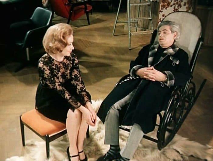 Виктория Горшенина и Аркадий Райкин | Фото: kinoistoria.ru