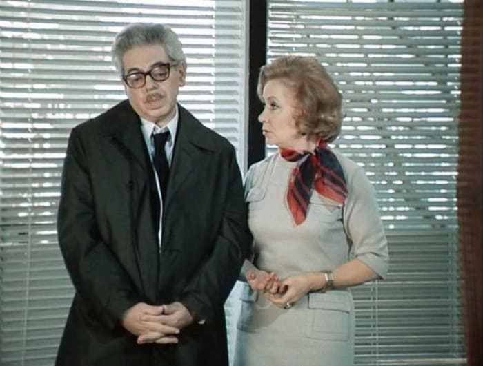 Виктория Горшенина и Аркадий Райкин | Фото: kino-teatr.ru