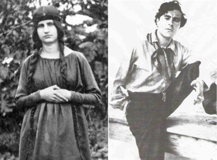 Жанна Эбютерн и Амедео Модильяни