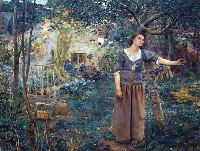 Ж. Бастьен-Лепаж. Видение Жанны д'Арк, 1879